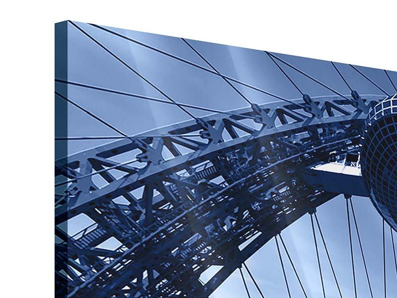 Acrylglasbild 3-teilig Schiwopisny-Brücke