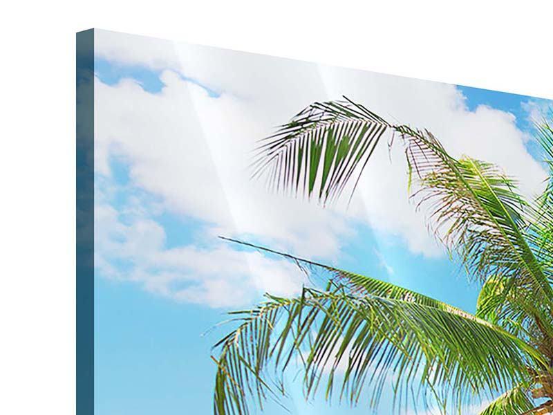 Acrylglasbild 3-teilig Koh Lanta