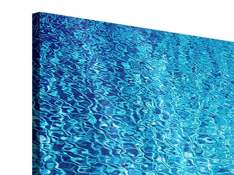 Acrylglasbild 3-teilig Tauchgang