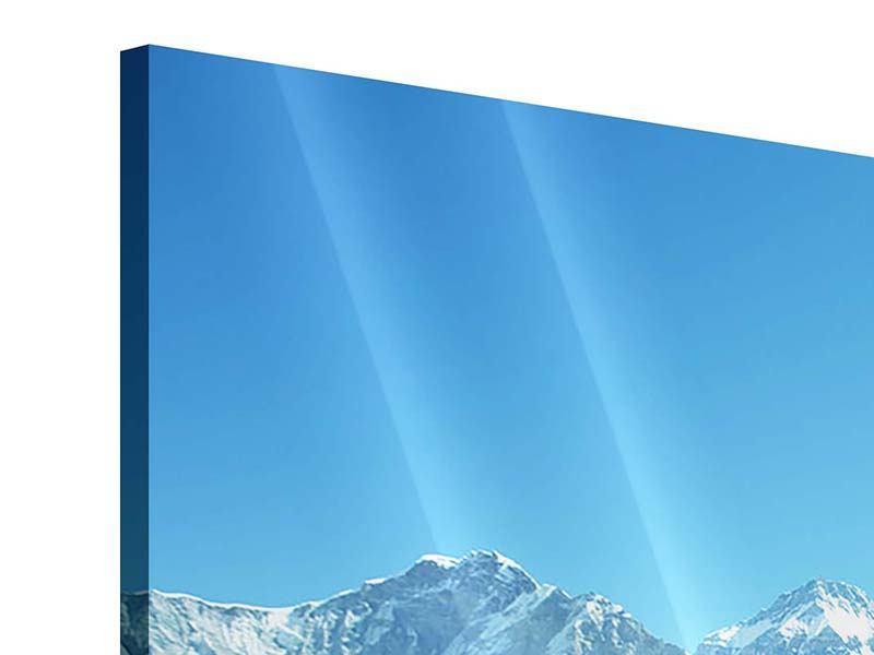 Acrylglasbild 3-teilig Das Himalaya-Gebirge