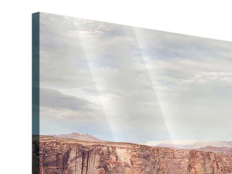 Acrylglasbild 3-teilig Horseshoe Bend