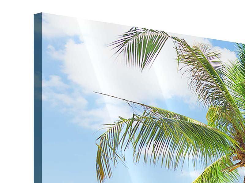 Acrylglasbild 3-teilig Die eigene Insel