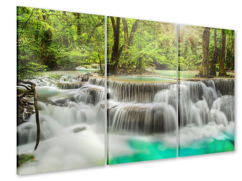 Acrylglasbild 3-teilig Erawan