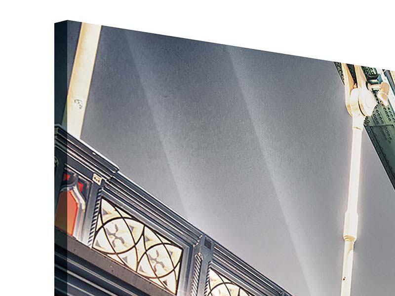 Acrylglasbild 3-teilig Tower Bridge XXL