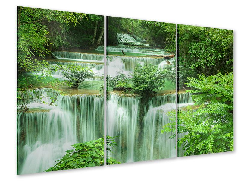 Acrylglasbild 3-teilig 7 Stufen in Thailand