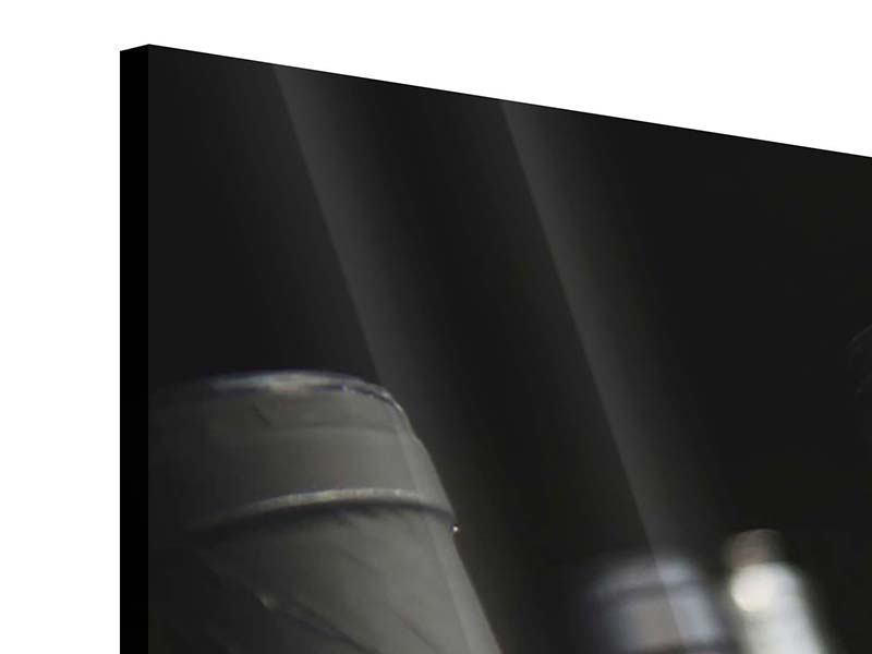 Acrylglasbild 3-teilig Flaschenweine