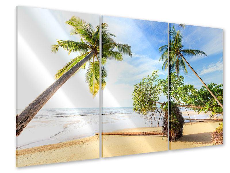Acrylglasbild 3-teilig Bang Sak Bucht