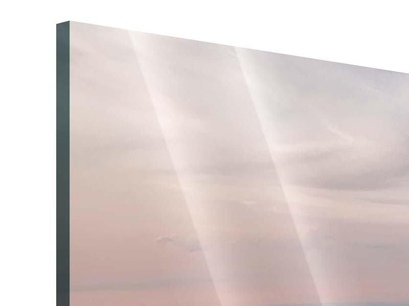 Acrylglasbild 3-teilig Skyline Blick über Manhattan