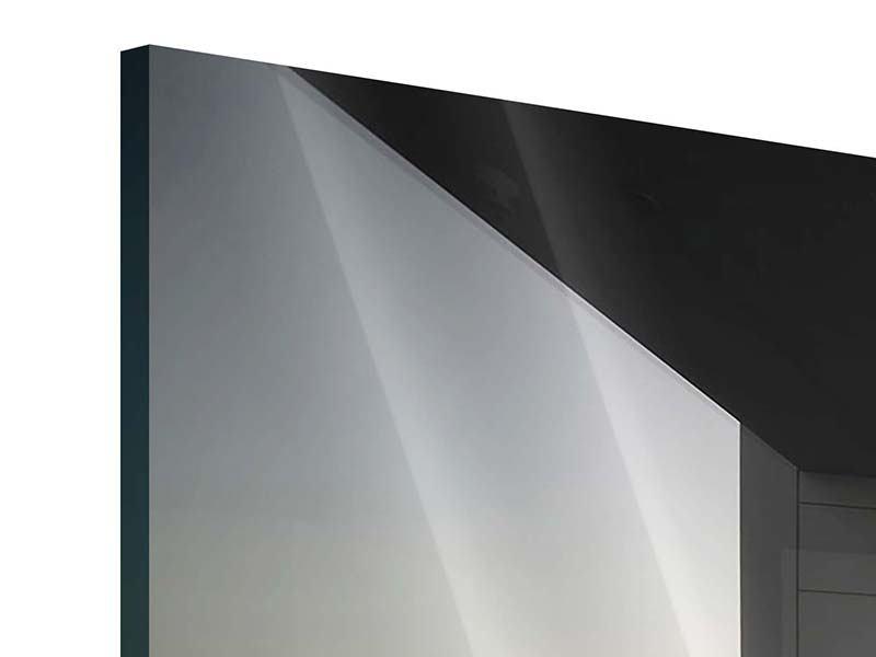 Acrylglasbild 3-teilig Balkon in Dubai