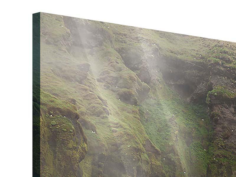 Acrylglasbild 3-teilig Skogafoss