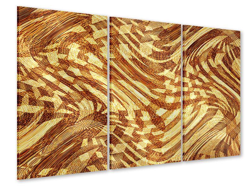 Acrylglasbild 3-teilig Retroperspektive