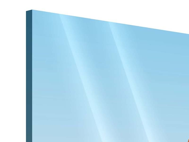 Acrylglasbild 3-teilig Brückenpanorama