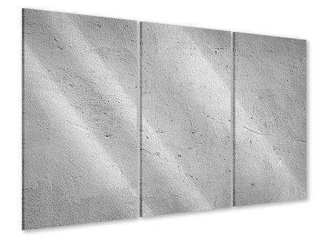 Acrylglasbild 3-teilig Beton