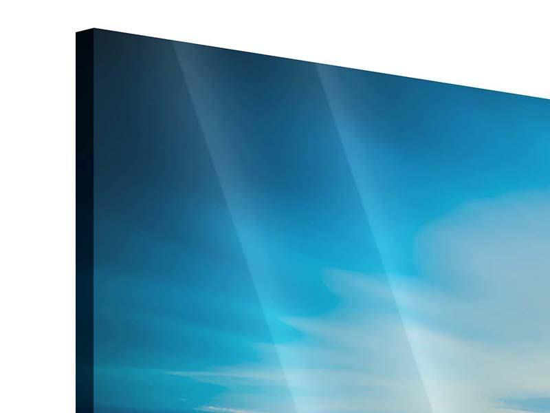 Acrylglasbild 3-teilig Brückenimpression