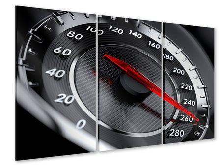Acrylglasbild 3-teilig Geschwindigkeit