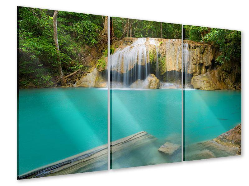 Acrylglasbild 3-teilig Frische Brise