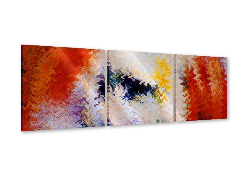 Panorama Acrylglasbild 3-teilig Wandmalerei