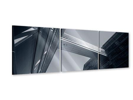 Panorama Acrylglasbild 3-teilig Der schwarze Diamant Kopenhagens