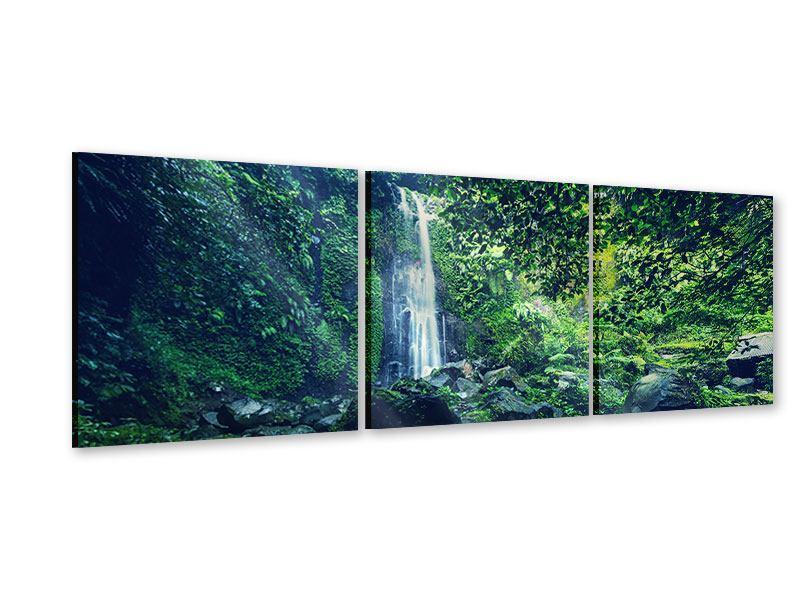 Panorama Acrylglasbild 3-teilig Natur