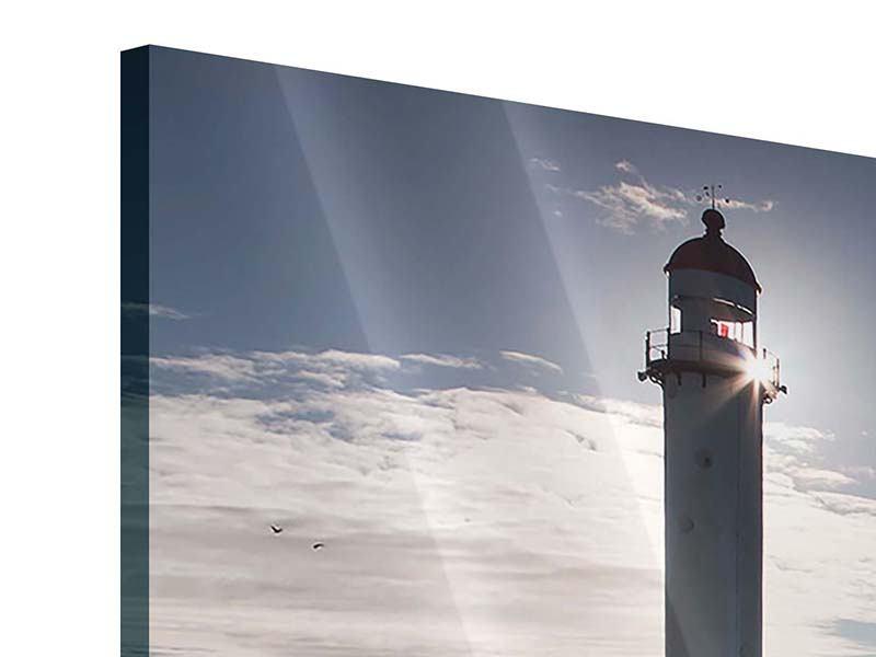 Panorama Acrylglasbild 3-teilig Sailing