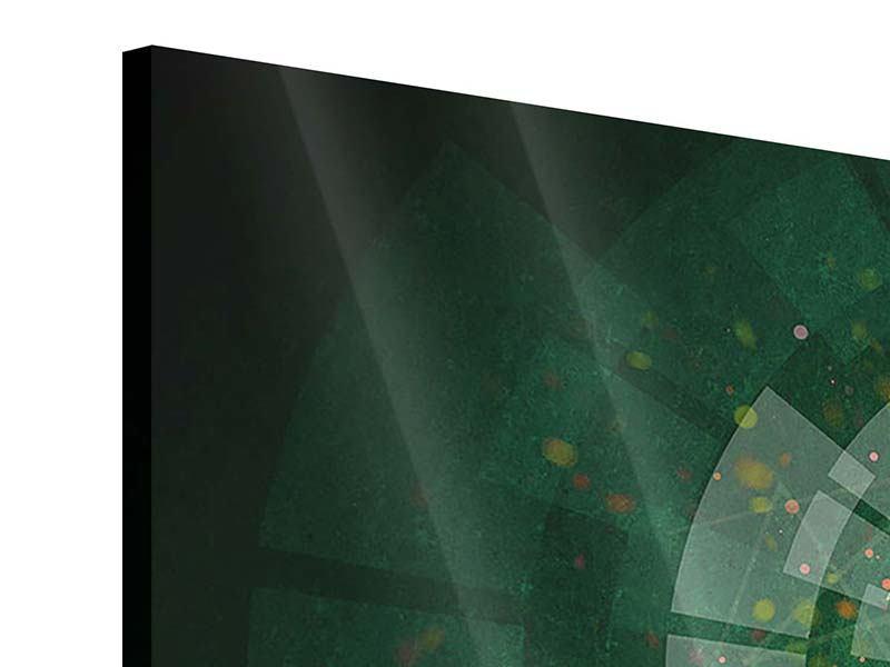 Panorama Acrylglasbild 3-teilig Der Kicker