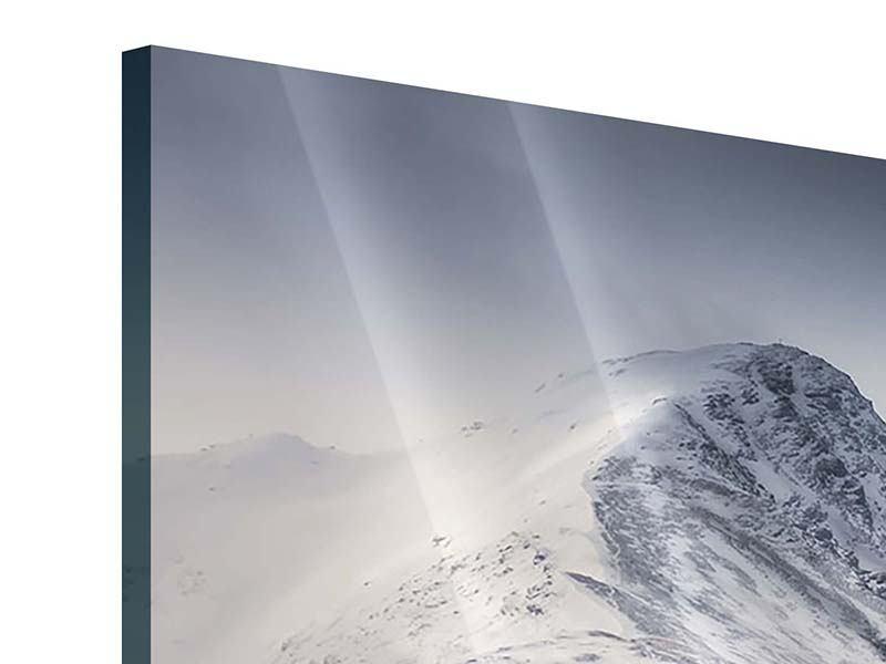 Panorama Acrylglasbild 3-teilig Die Berge der Schweiz
