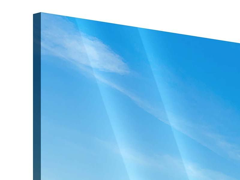 Panorama Acrylglasbild 3-teilig Der Leuchtturm