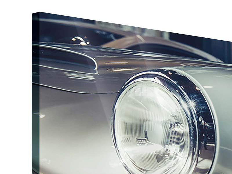 Panorama Acrylglasbild 3-teilig Classic Car