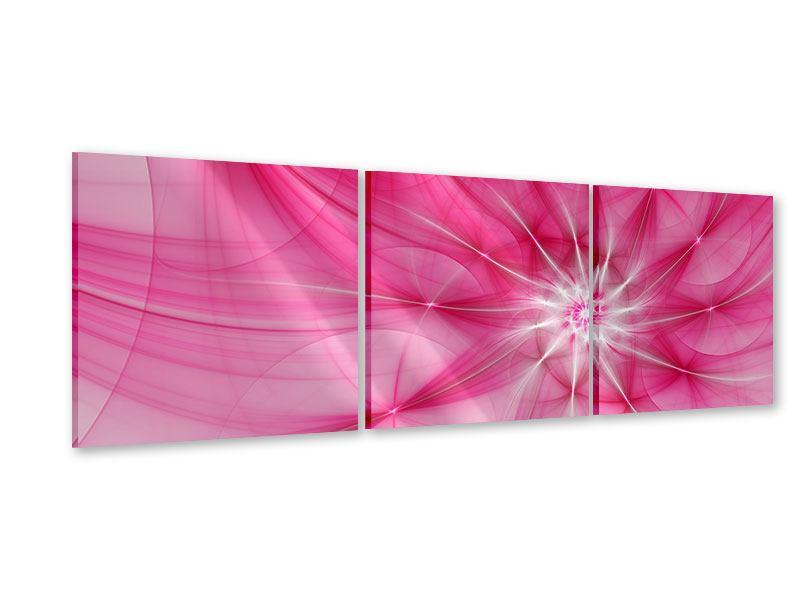 Panorama Acrylglasbild 3-teilig Abstrakt Daylight