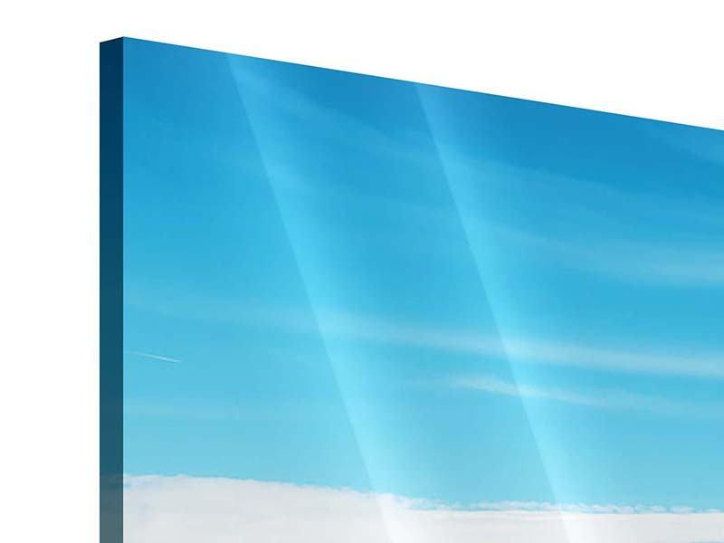Panorama Acrylglasbild 3-teilig Alpenpanorama