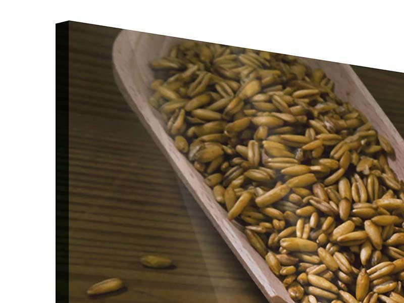 Panorama Acrylglasbild 3-teilig Das Brot