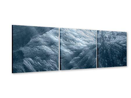 Panorama Acrylglasbild 3-teilig Eis