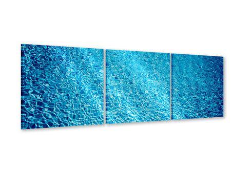 Panorama Acrylglasbild 3-teilig Tauchgang