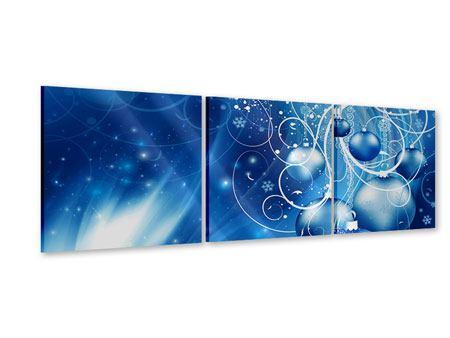 Panorama Acrylglasbild 3-teilig Shingle Bells