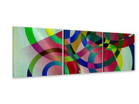 Panorama Acrylglasbild 3-teilig Wandkunst