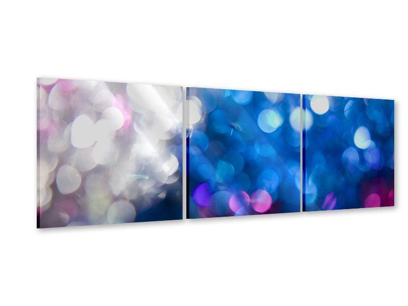 Panorama Acrylglasbild 3-teilig Abstraktes Licht