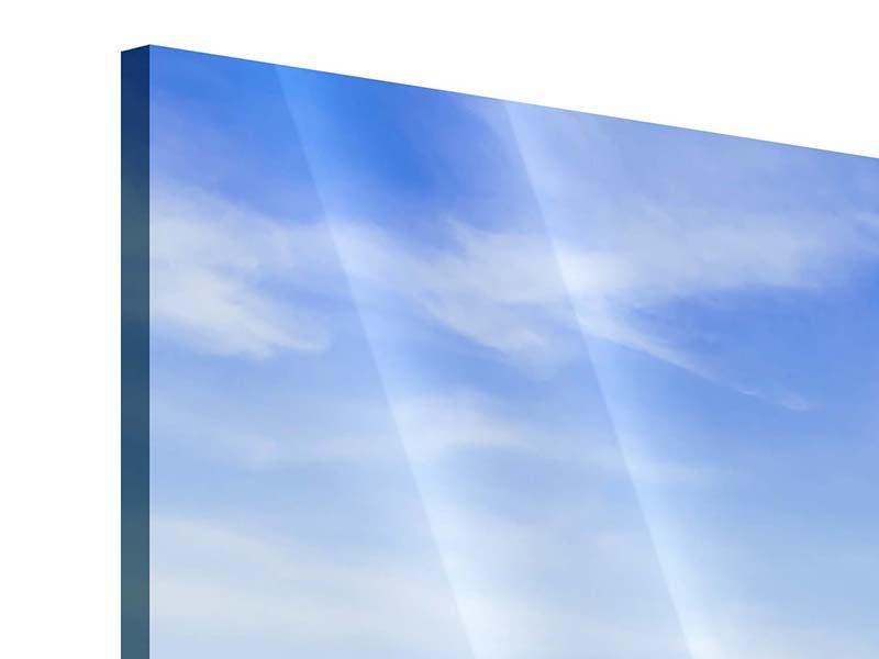 Panorama Acrylglasbild 3-teilig Thailands Traumstrand