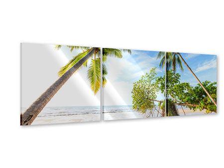 Panorama Acrylglasbild 3-teilig Bang Sak Bucht