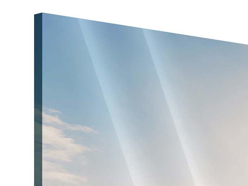 Panorama Acrylglasbild 3-teilig Eislandschaft