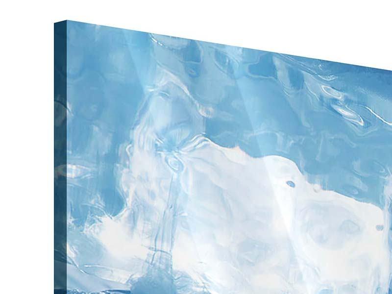 Panorama Acrylglasbild 3-teilig Baikalsee-Eis