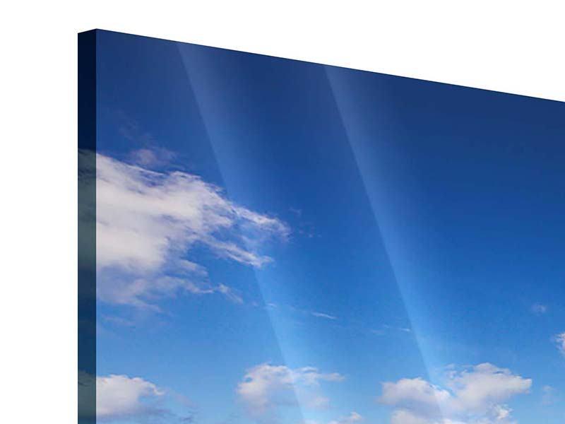 Panorama Acrylglasbild 3-teilig Die Gezeiten und das Meer