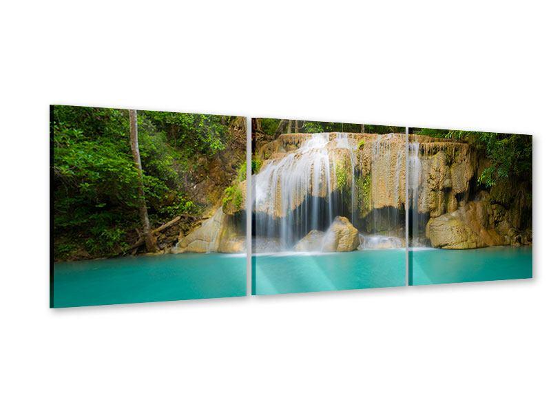 Panorama Acrylglasbild 3-teilig Frische Brise