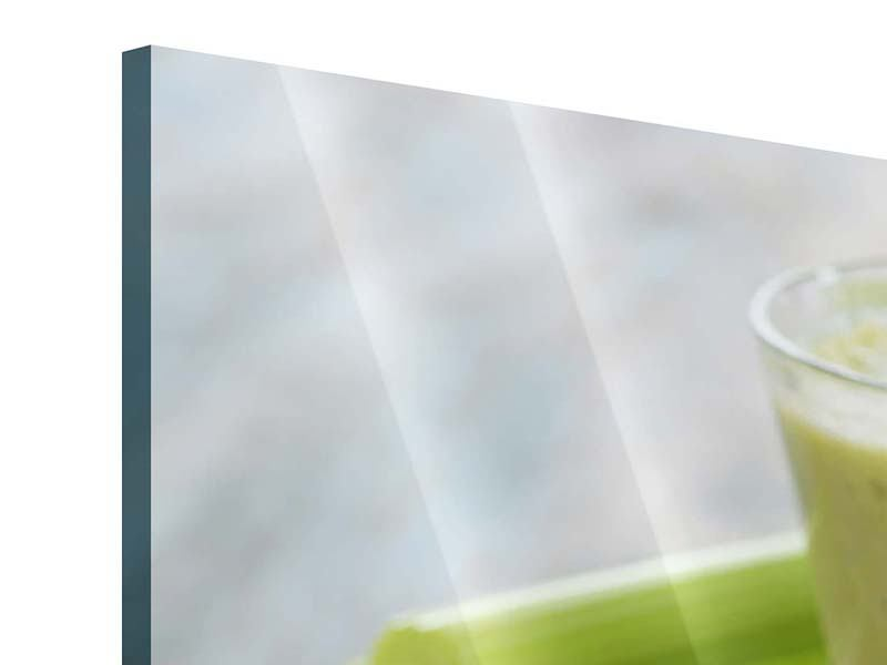 Panorama Acrylglasbild 3-teilig Smoothie