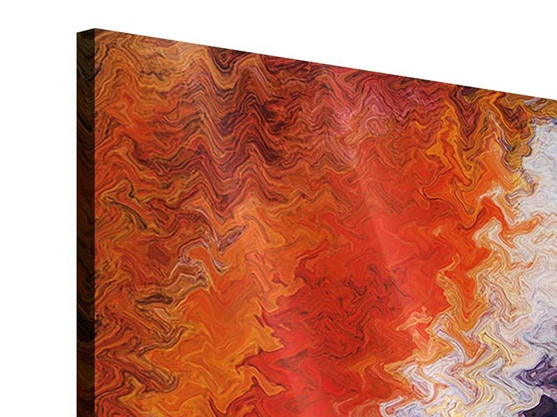 Acrylglasbild 3-teilig modern Wandmalerei