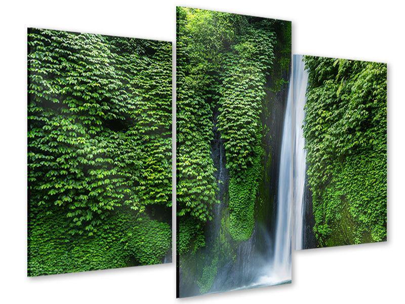 Acrylglasbild 3-teilig modern Lebensquelle