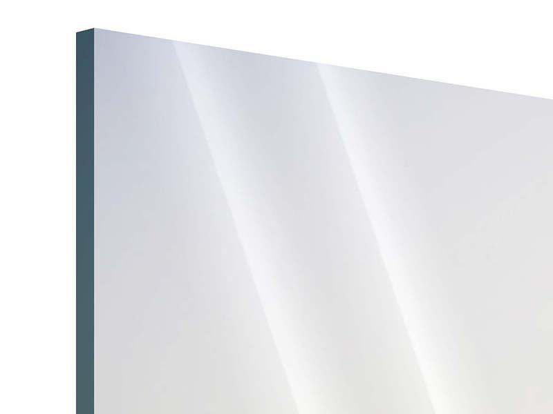Acrylglasbild 3-teilig modern Rennstrecke
