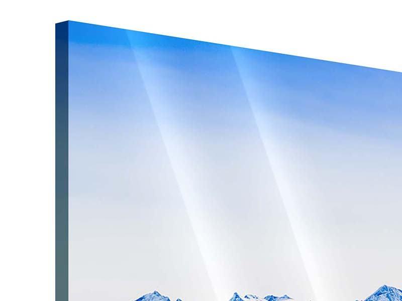 Acrylglasbild 3-teilig modern Die Schweizer Alpen