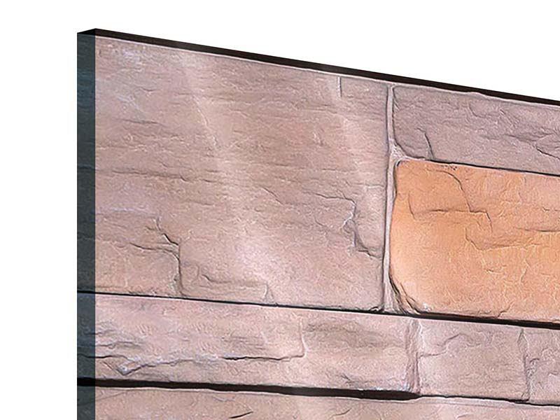 Acrylglasbild 3-teilig modern Wall