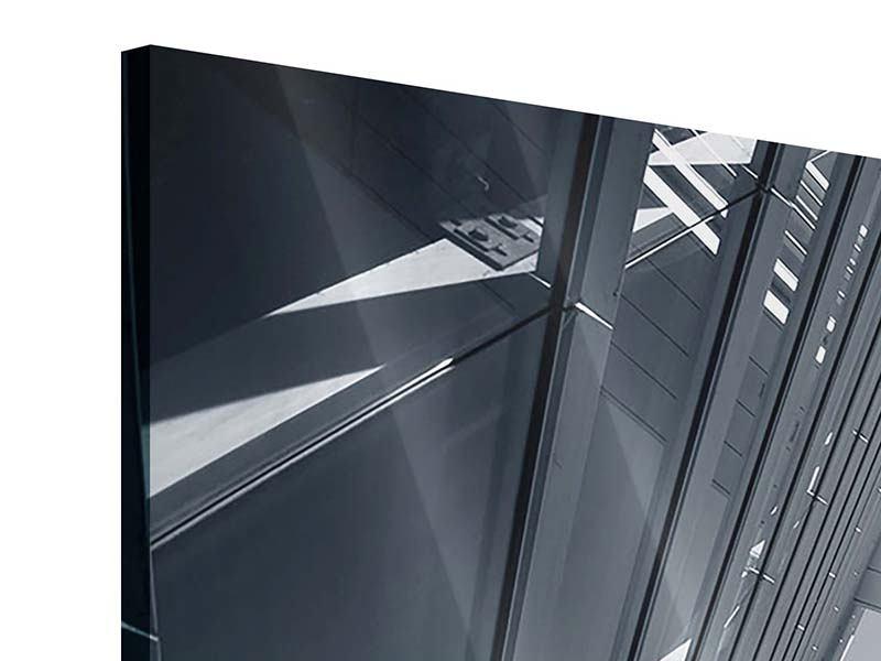 Acrylglasbild 3-teilig modern Der schwarze Diamant Kopenhagens