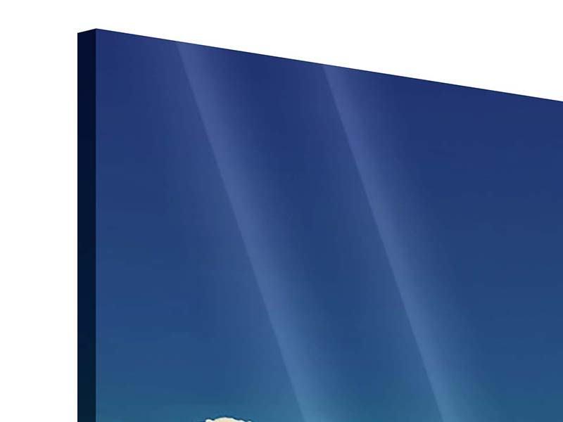 Acrylglasbild 3-teilig modern Himmelswolken